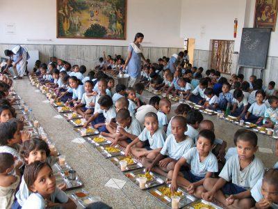 Alimentos para Vida na Índia
